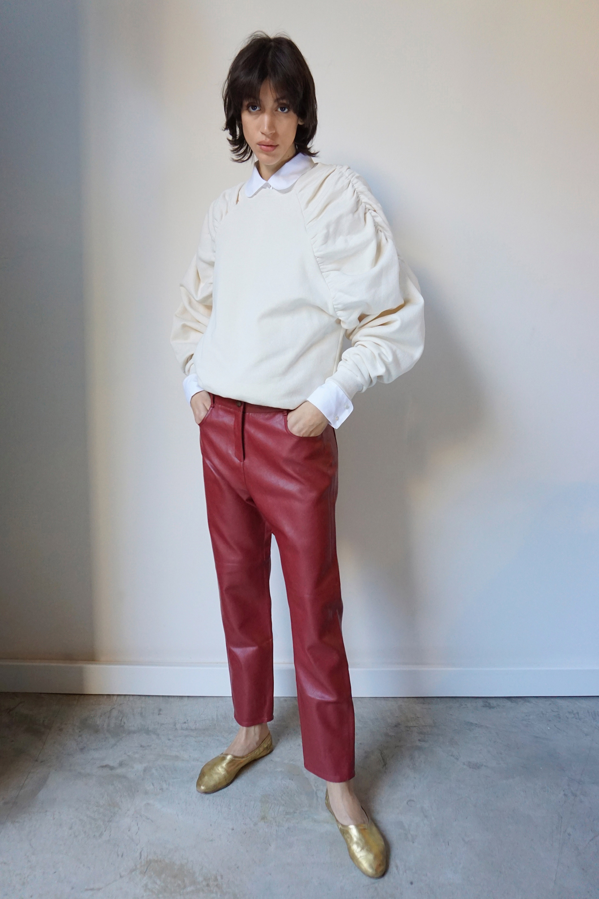 Balthazar Pants Red